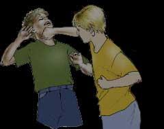 Boy's Fighting
