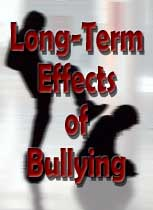 Long term effects of being bullied
