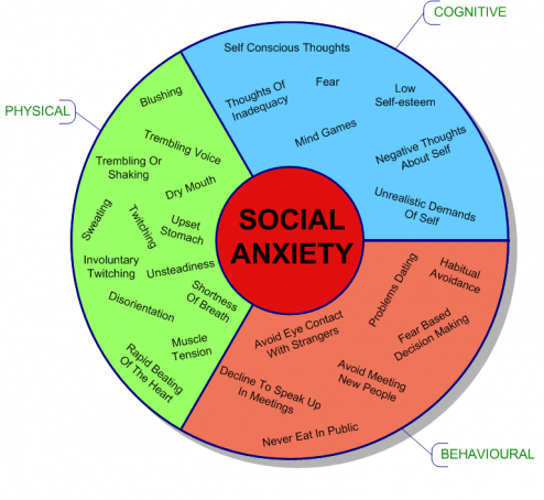 Social Anxiety Chart