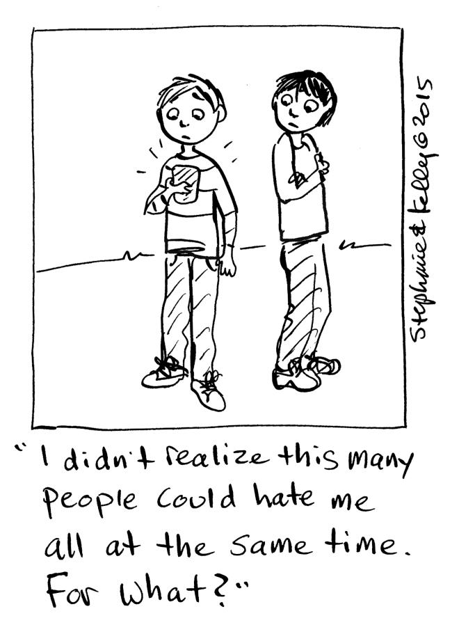 Bullying Cartoon